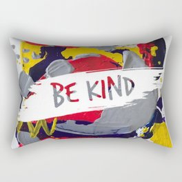 Miniature Original  - be kind Rectangular Pillow