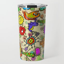 Doodle Germs Travel Mug