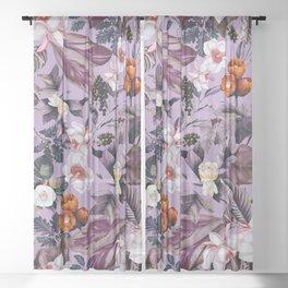 Crocus Petal Sheer Curtain
