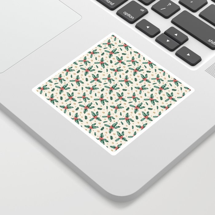 CHRISTMAS MISTLETOE Sticker by Magic Dreams