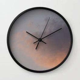 Sebago Lake Sunset Wall Clock
