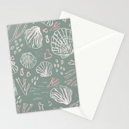 Deep-sea Treasures - soft Stationery Cards
