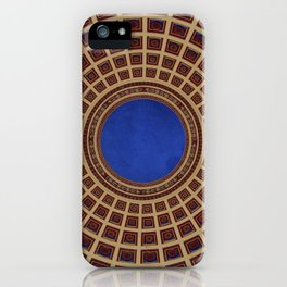 Ceiling of the National Capital Building in Havana, Cuba iPhone Case