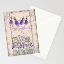 Provence France - my love  - Lavender and Summer Stationery Cards