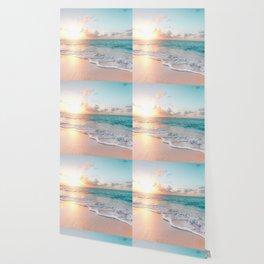 Pink Sea Wallpaper