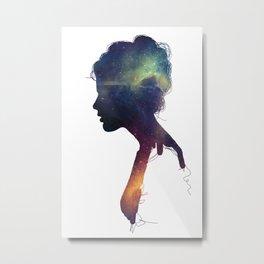 Stellar Girl Metal Print