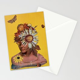 Keep Me Hidden Amongst the Fruit and Flowers Stationery Cards