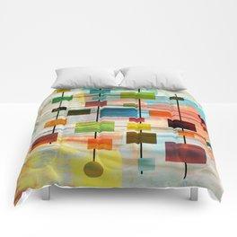 Mid-Century Modern Art 1.3 -  Graffiti Style Comforters