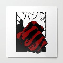 Punch man Metal Print