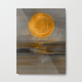 Paint Your Love In Sunlight Metal Print