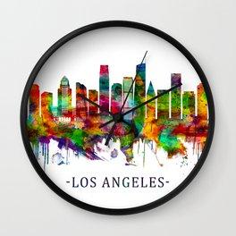 Los Angeles California Skyline Wall Clock