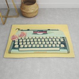 The Typewriter Rug