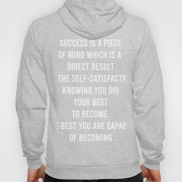 Success Is a Piece Hoody