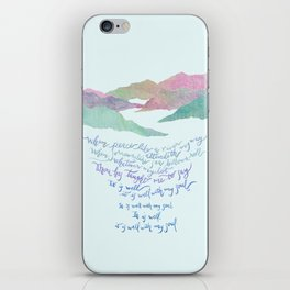 It Is Well With My Soul-Hymn iPhone Skin