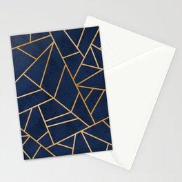 Art Deco Blue Stationery Cards