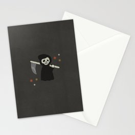 Halloween Grim Reaper  Stationery Cards
