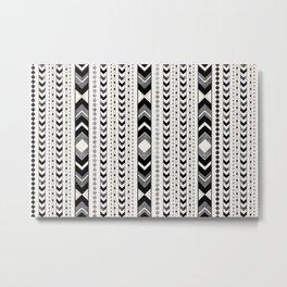 Tribal Arrow Boho Pattern #5 #aztec #decor #art #society6 Metal Print