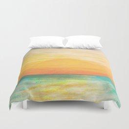 Summer Sunset Duvet Cover