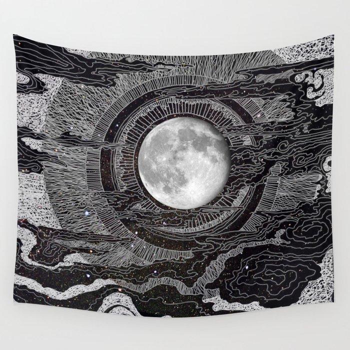 Moon Glow Wandbehang