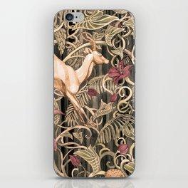 Wild life pattern iPhone Skin