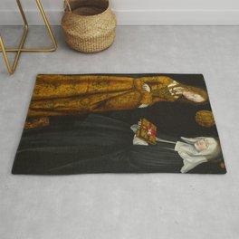 "Lucas Cranach the Elder ""Saints Christina and Ottilia"" Rug"