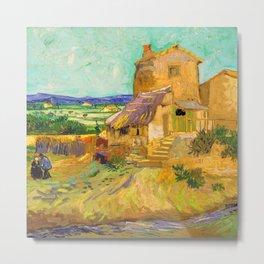 Van Gogh The Old Mill Metal Print