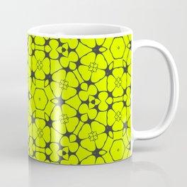 Summer Molecules Pattern Coffee Mug