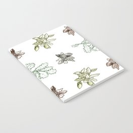 Quercus (greens) Notebook