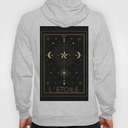 L'Etoile or The Star Tarot Gold Hoody
