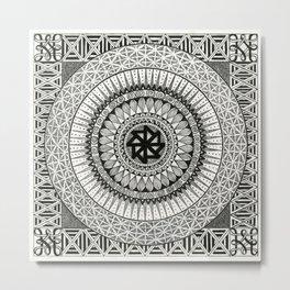 Mandala3 Metal Print