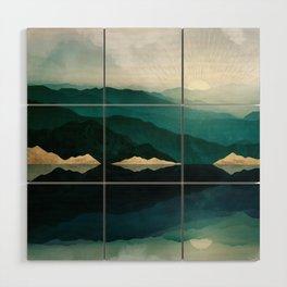 Waters Edge Reflection Wood Wall Art