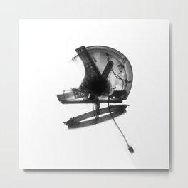 Astronaut Halmet Metal Print