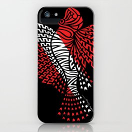 Tribal Scuba Flag Lionfish iPhone Case