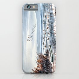 Duck Hunting For Canvasbacks iPhone Case