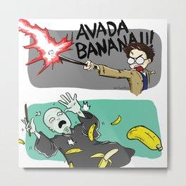 Avada Banana Metal Print