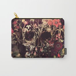 Bloom Skull Carry-All Pouch