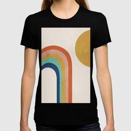 The Sun and a Rainbow T-shirt