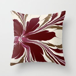 Mother's Flower Throw Pillow