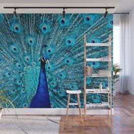 Peacock  Blue 11 Wall Mural