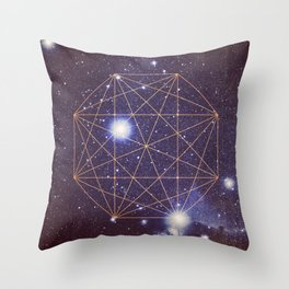 Sector 9-B Revealed Throw Pillow