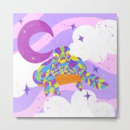 Tortle sky dream  Metal Print