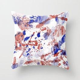 Stagnant tremors Throw Pillow