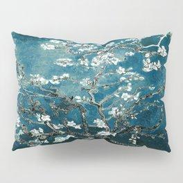 Van Gogh Almond Blossoms : Dark Teal Kissenbezug