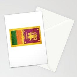 Sri Lanka Flag design | Sri Lankan design Stationery Cards