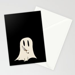 Knife Ghost Stationery Cards