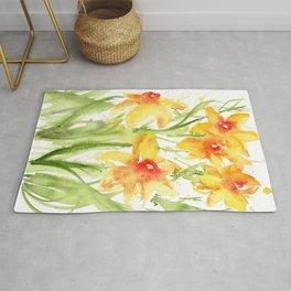 Loose Daffodils II Rug