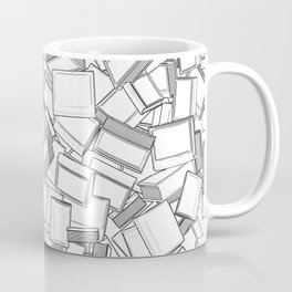 The Book Pile II Coffee Mug