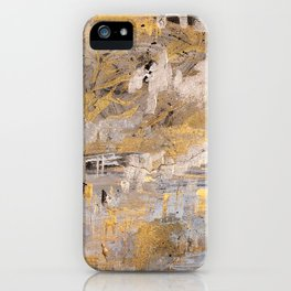 BlackAndGold iPhone Case