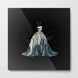 Evening Gown Fashion Illustration #1 Metal Print