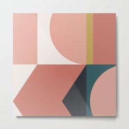 Maximalist Geometric 02 Metal Print